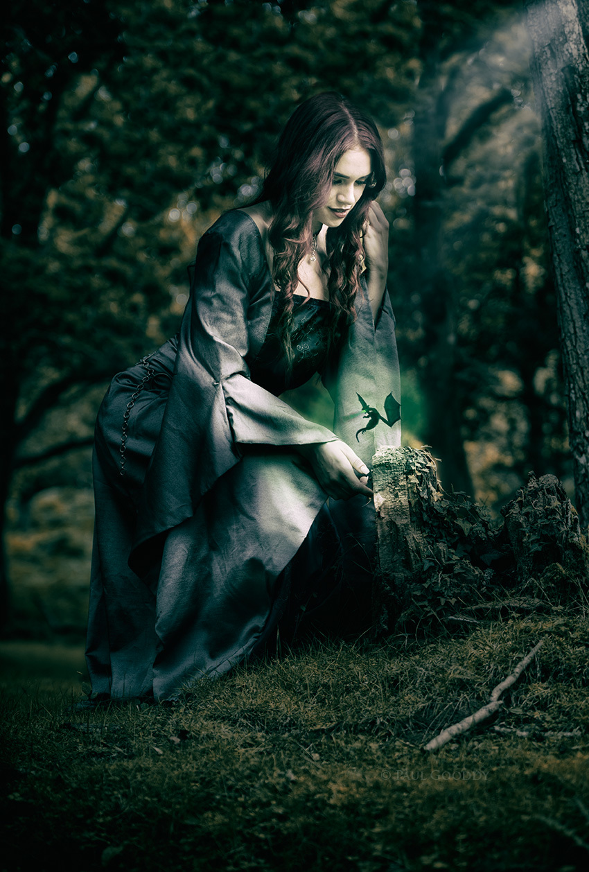 Laura Woodland Sorceress / Photography by Paul Gooddy, Model Laura Faye, Post processing by Paul Gooddy / Uploaded 9th March 2018 @ 08:34 AM