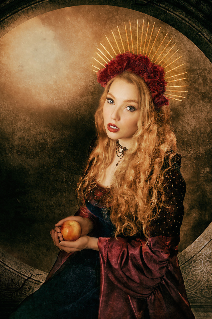 Renaissance Eve / Photography by Paul Gooddy, Post processing by Paul Gooddy, Stylist Paul Gooddy / Uploaded 11th June 2019 @ 08:33 AM