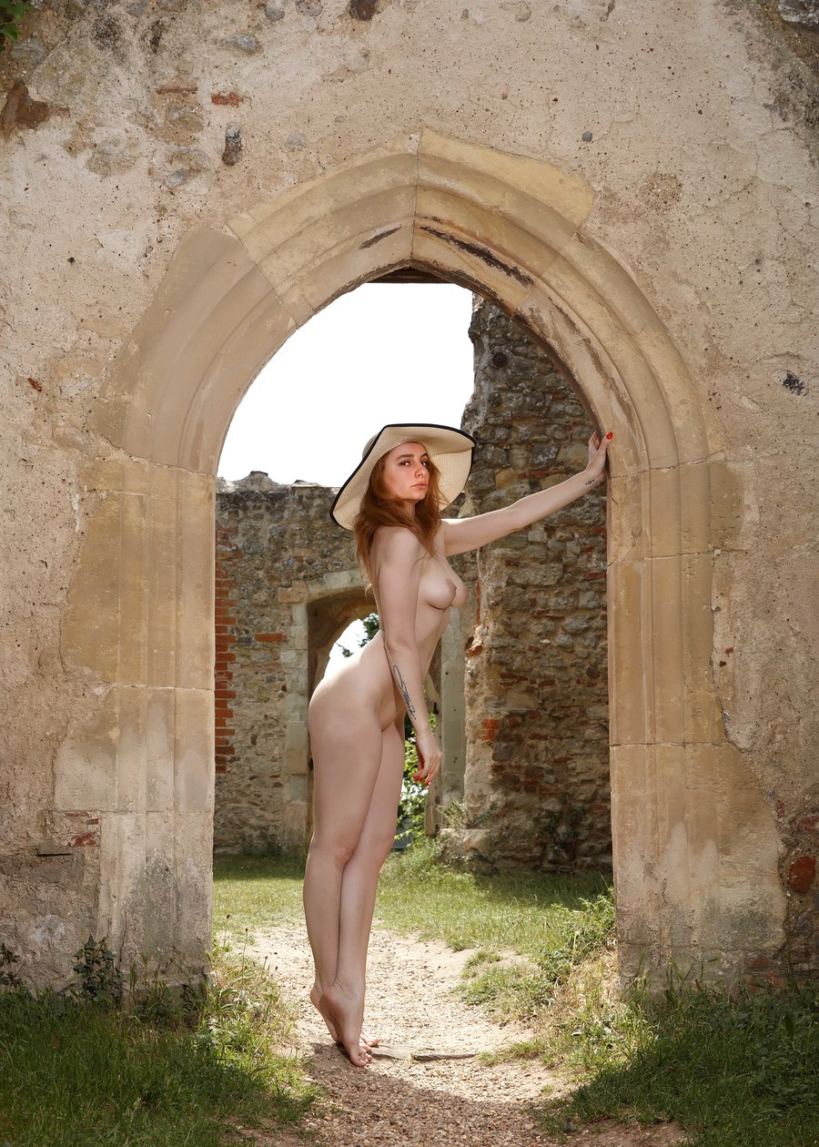 Church ruins with David / Photography by DG Photo Art, Model Cleo P / Uploaded 26th June 2020 @ 09:30 AM