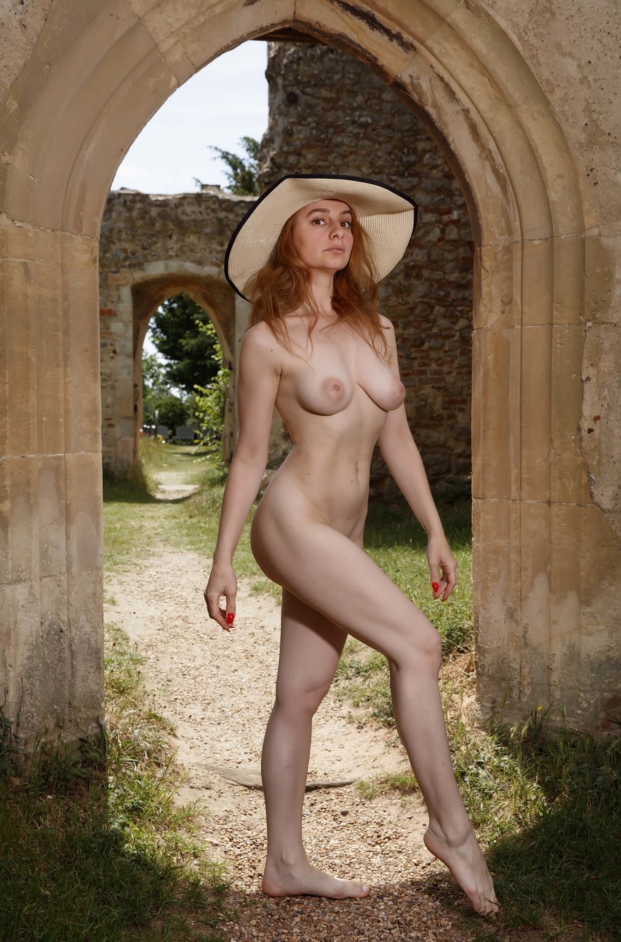 Church ruins with David / Photography by DG Photo Art, Model Cleo P / Uploaded 26th June 2020 @ 01:41 PM