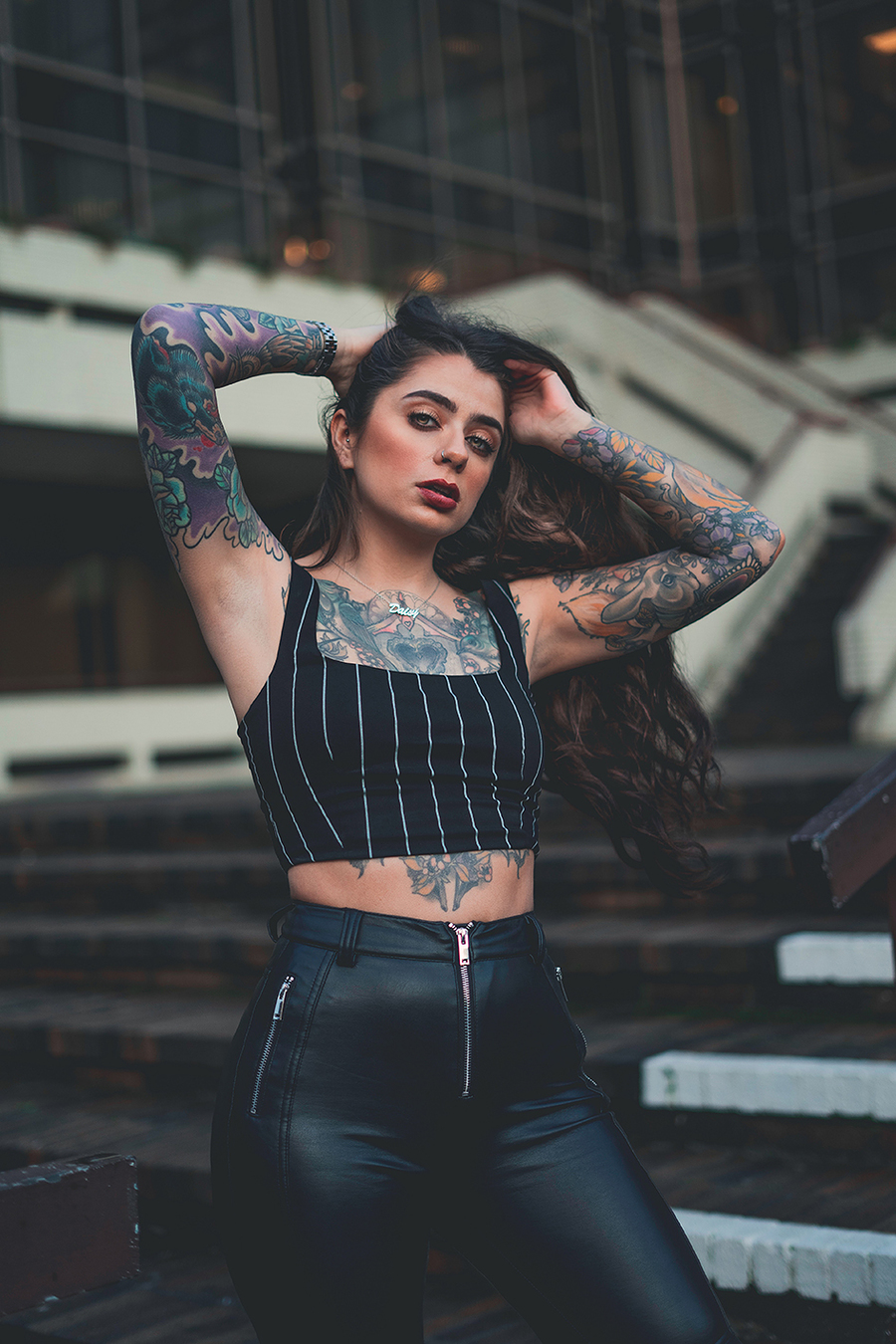 Tattooed Sass / Photography by EmberLeaAshes, Post processing by EmberLeaAshes / Uploaded 14th January 2020 @ 03:38 PM