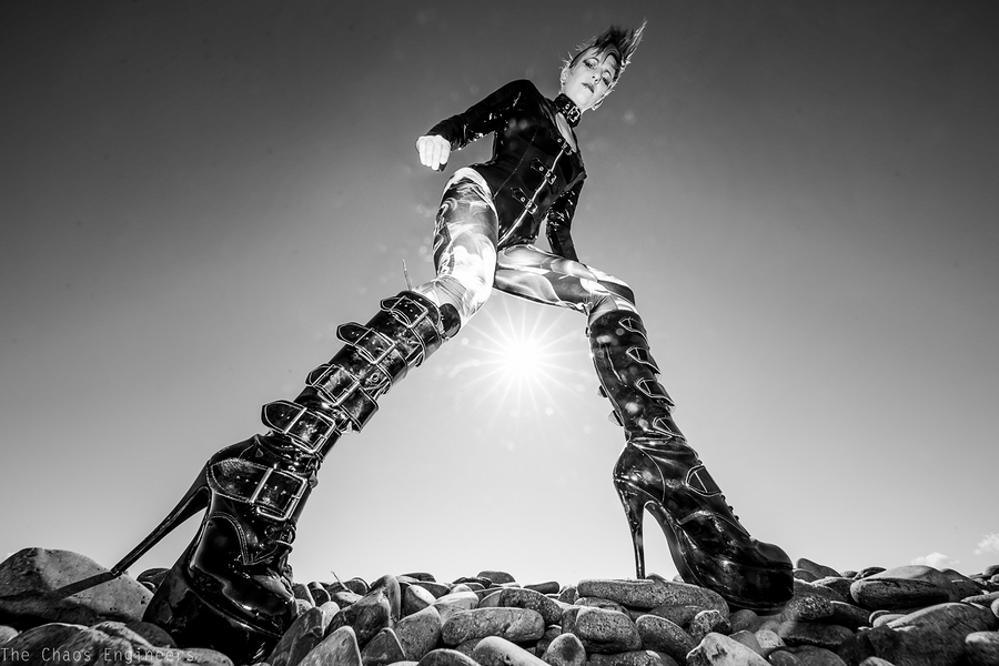 These boots were made for... / Photography by The Chaos Engineers, Model Mog / Uploaded 10th August 2015 @ 09:59 AM