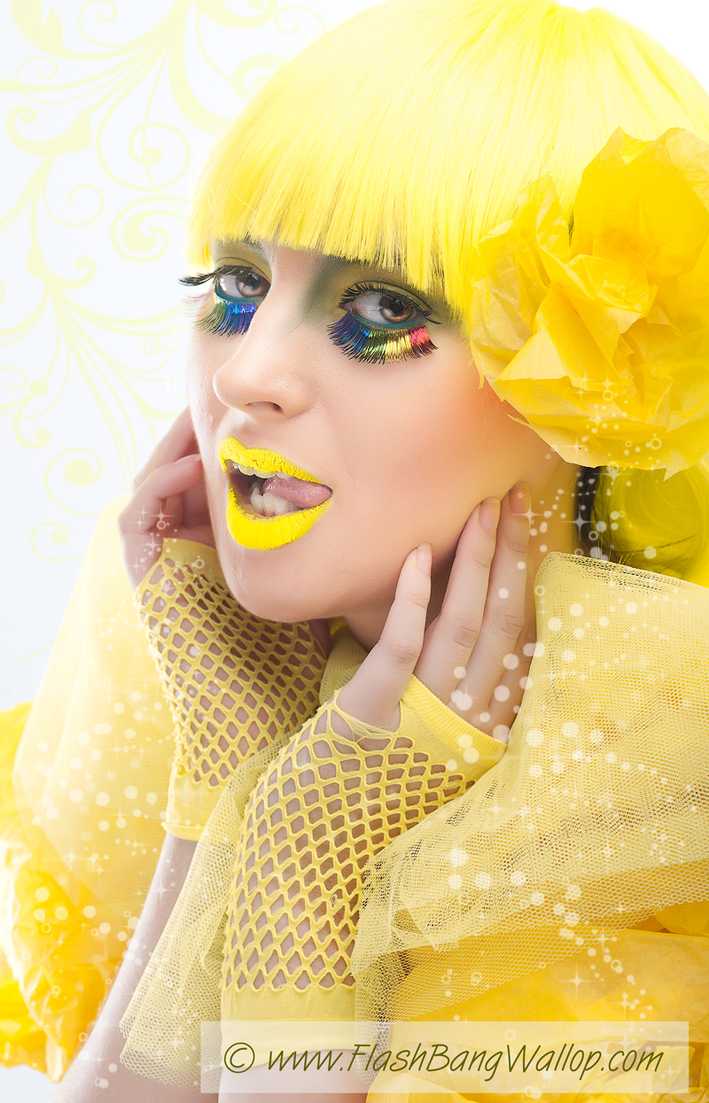 In a yellow world / Photography by Flash Bang Wallop, Model CherylSmith / Uploaded 26th September 2012 @ 12:08 PM