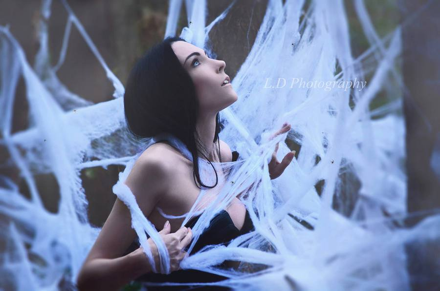 Caught in your web / Photography by L.D Photography, Model Avant Garde / Uploaded 31st October 2014 @ 08:33 PM