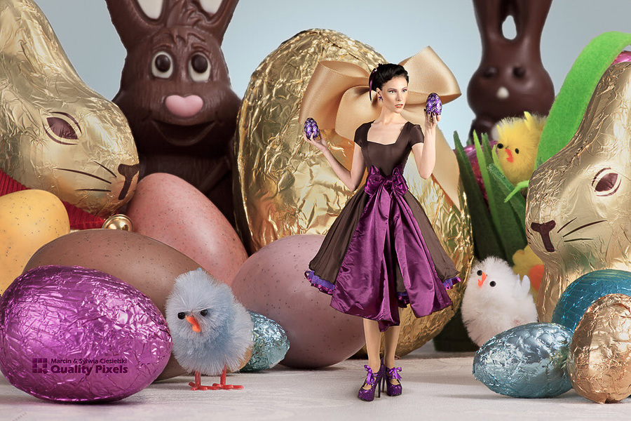 Happy Easter! / Photography by Quality Pixels, Model Avant Garde, Post processing by Quality Pixels, Hair styling by Avant Garde / Uploaded 20th April 2014 @ 04:08 PM