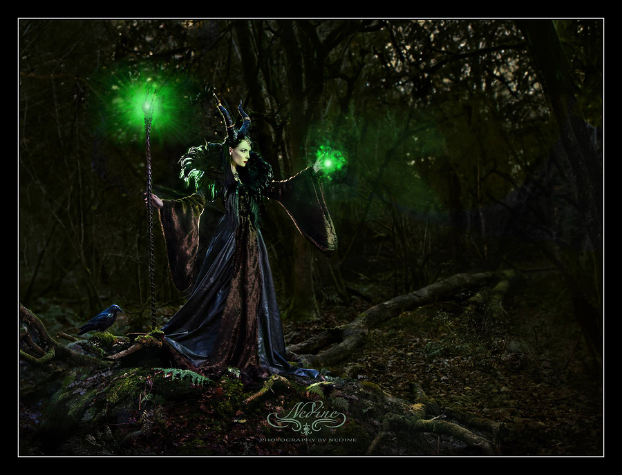 Maleficent and Colin / Photography by Nedine, Model Avant Garde / Uploaded 29th December 2014 @ 12:19 PM