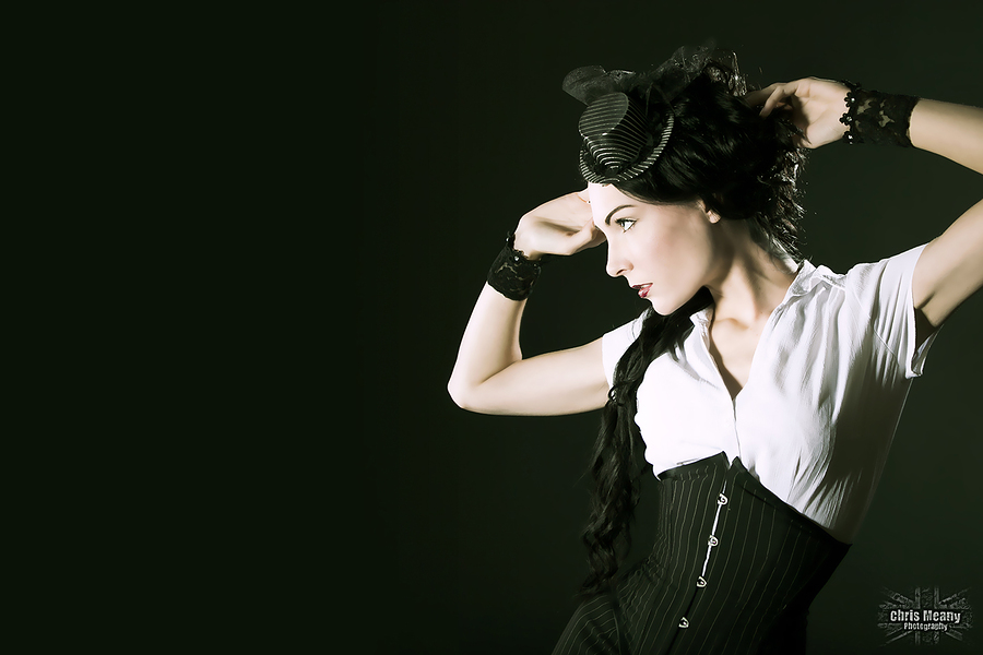 Pinstripe / Photography by Chris Meany, Model Avant Garde / Uploaded 18th October 2013 @ 10:49 PM