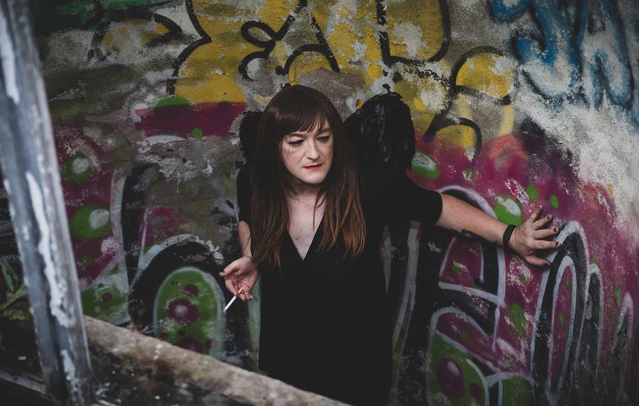 Angels are genderless 🖤 / Photography by Pixels Glasgow, Model Anna Secret Poet / Uploaded 13th October 2021 @ 05:43 AM