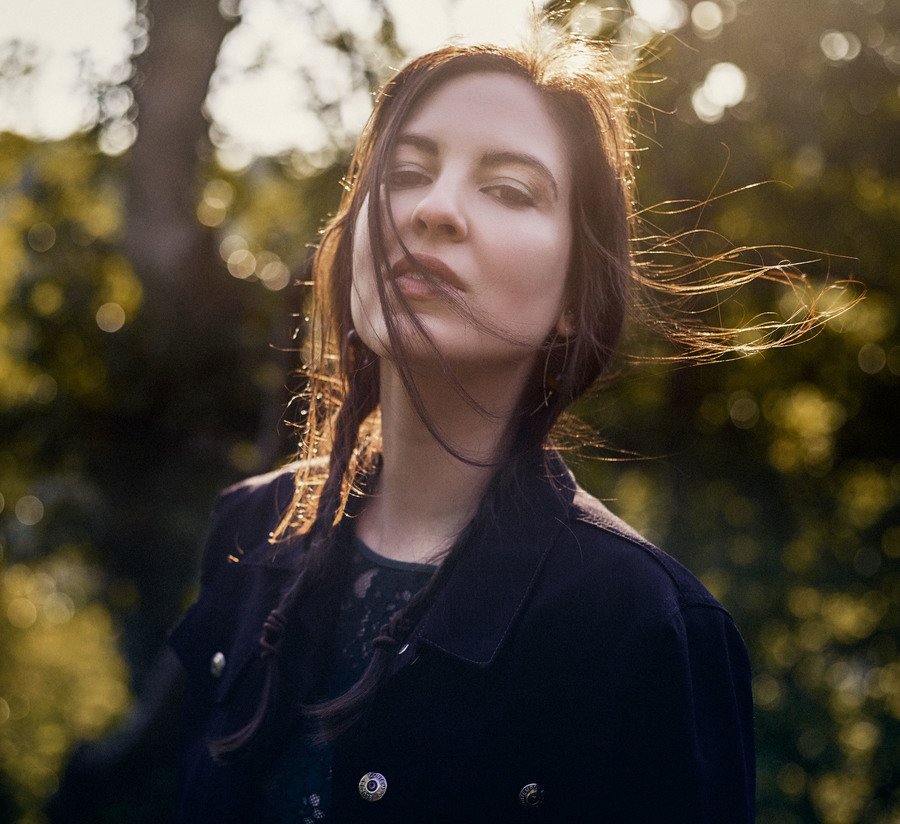 Windy in the woods / Model Barbara Stracciatella / Uploaded 24th August 2020 @ 03:17 PM