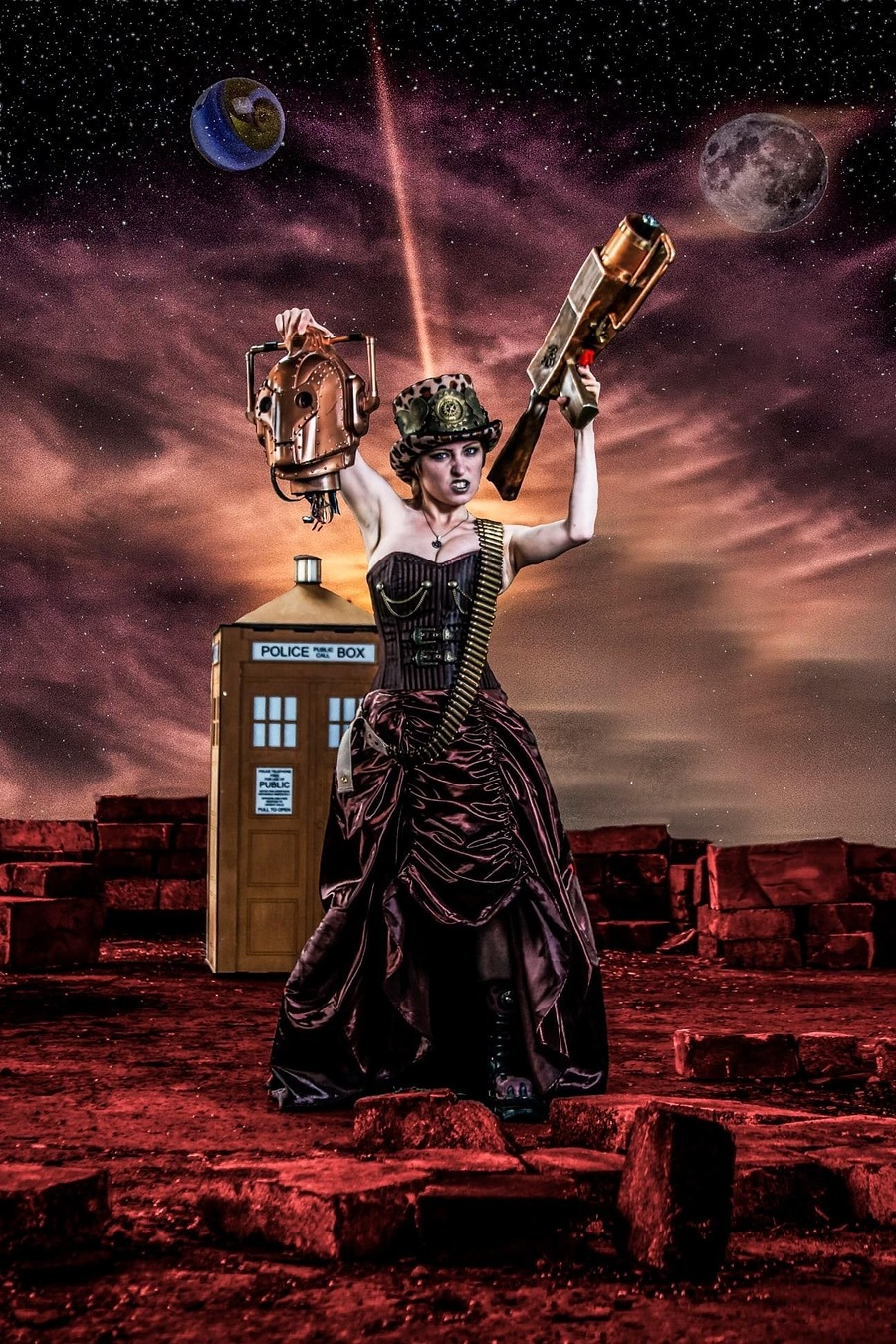 The doctor victorious / Photography by Mark Zygo, Post processing by Mark Zygo / Uploaded 17th September 2020 @ 10:07 PM