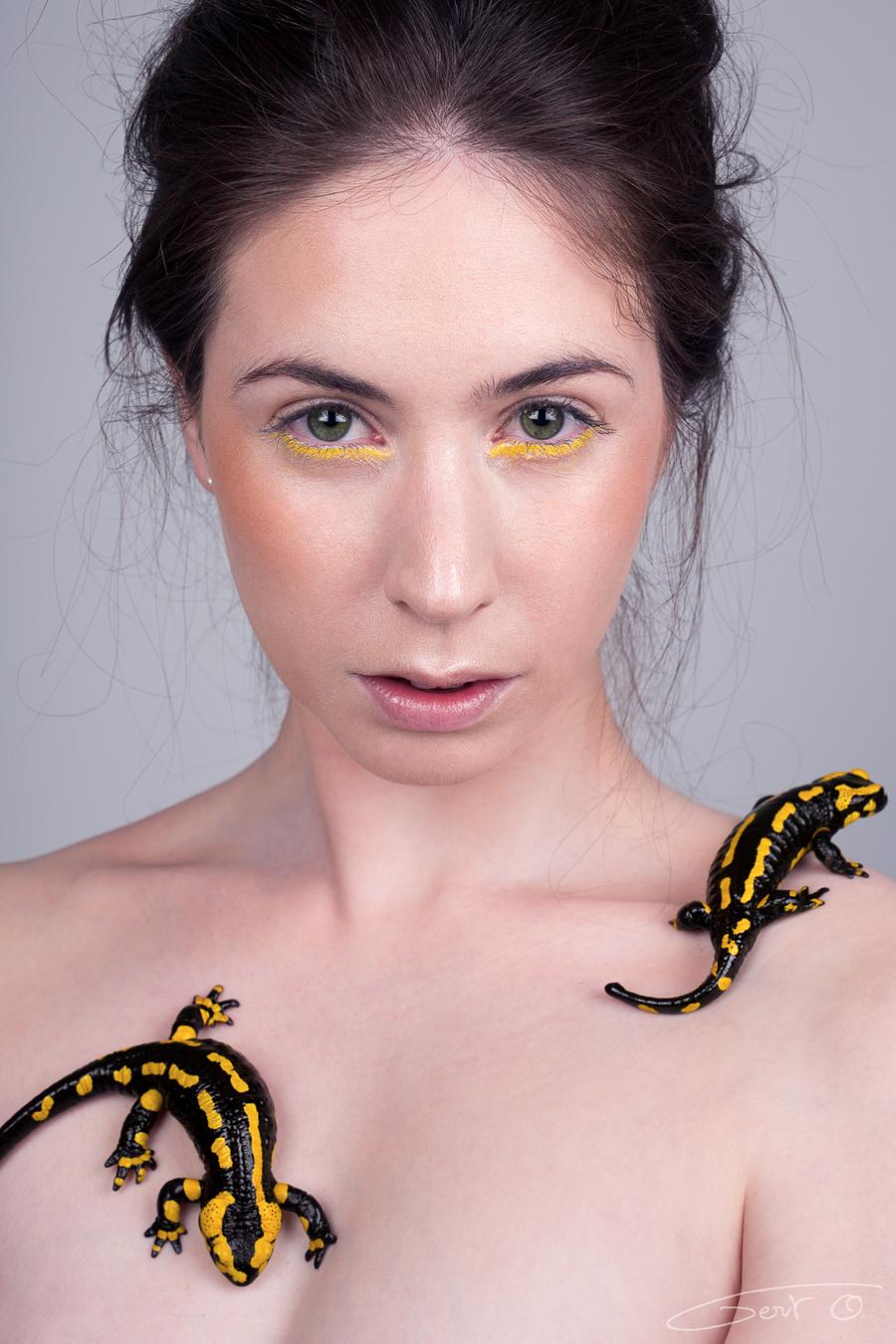 firesalamander 2 / Model Elle Beth, Assisted by Riona Neve / Uploaded 21st August 2018 @ 10:11 PM