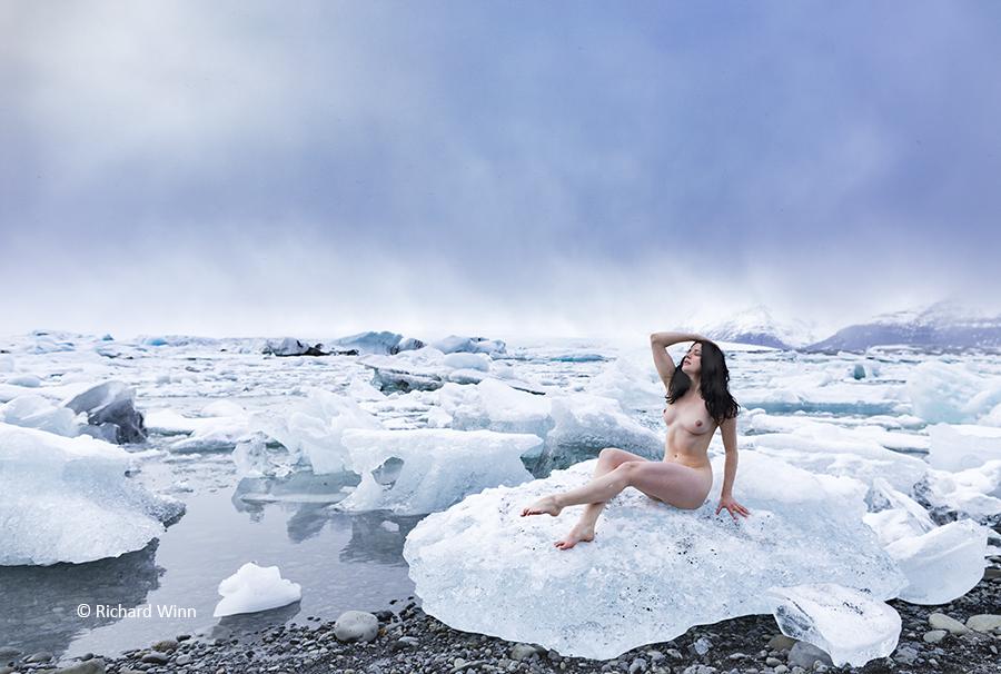 A sea of Icebergs / Photography by Richard Winn, Model Helen Diaz / Uploaded 20th November 2018 @ 09:49 PM