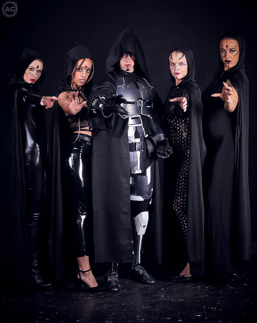 The Dark Side Will Devour All Those Who Lack The Power To Control It! / Photography by AC9, Models Everly Rose, Models Ezme_Florence_Model, Models Fi Fi, Models KarenR, Makeup by Fi Fi / Uploaded 6th December 2019 @ 11:08 AM
