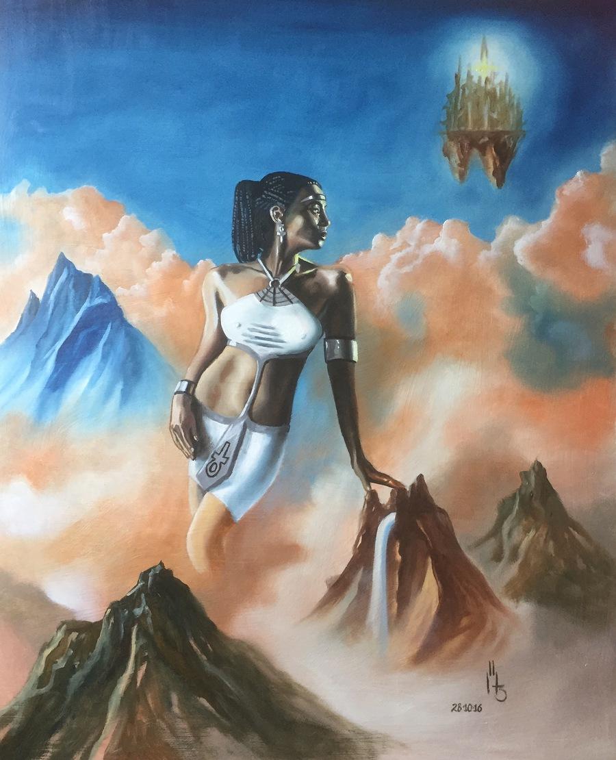 Goddesses Ankh / Artwork by Beardmore / Uploaded 28th October 2016 @ 05:25 PM