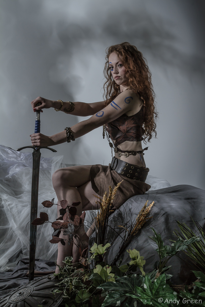 Warrior Queen / Photography by Andy Green (GreenEye), Model Gemma  Rose / Uploaded 5th November 2013 @ 04:48 PM
