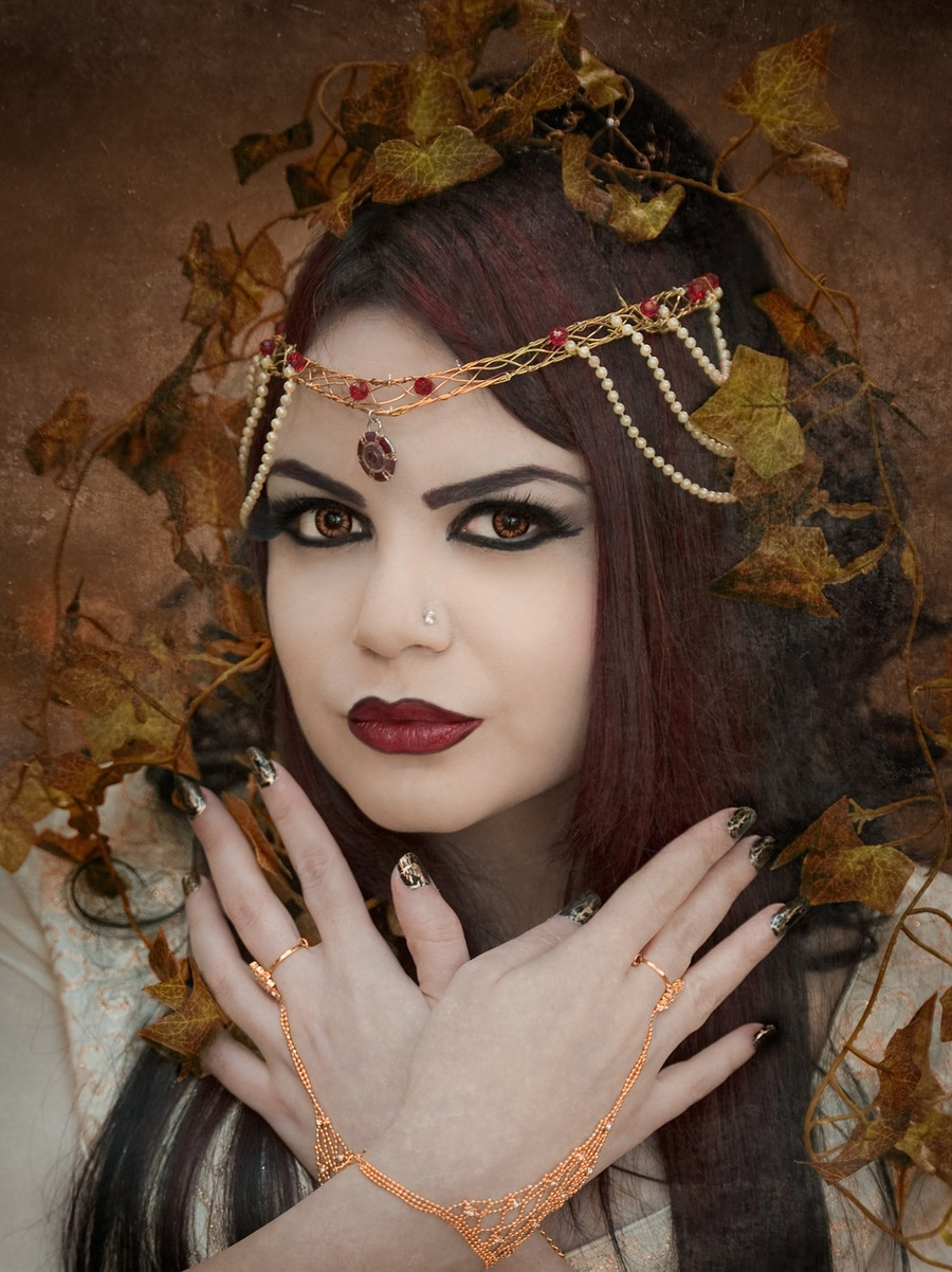Golden Autumn / Photography by Paul Gooddy, Model Azadeh / Uploaded 31st July 2013 @ 09:28 PM