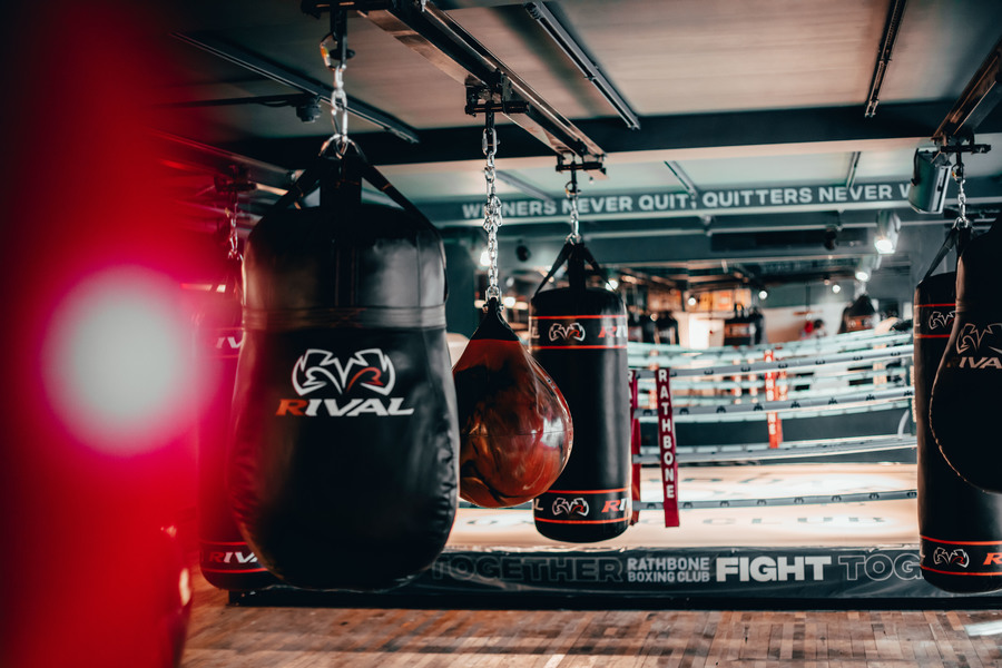 Heavy Bags and Ring / Taken at Rathbone Boxing Club / Uploaded 5th December 2020 @ 04:01 PM