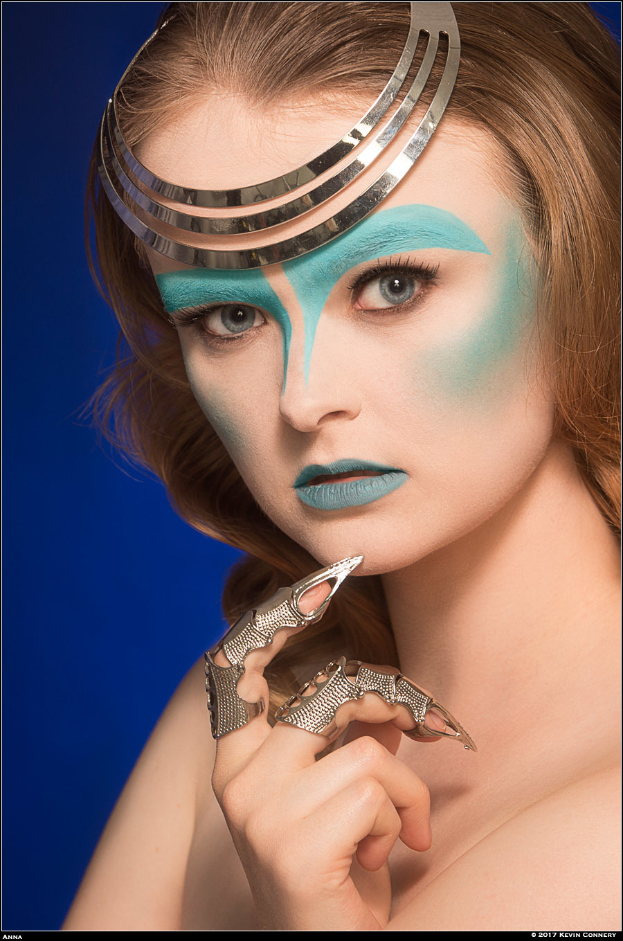 Blue Anna / Photography by Kevin Connery / Uploaded 16th January 2021 @ 10:25 PM