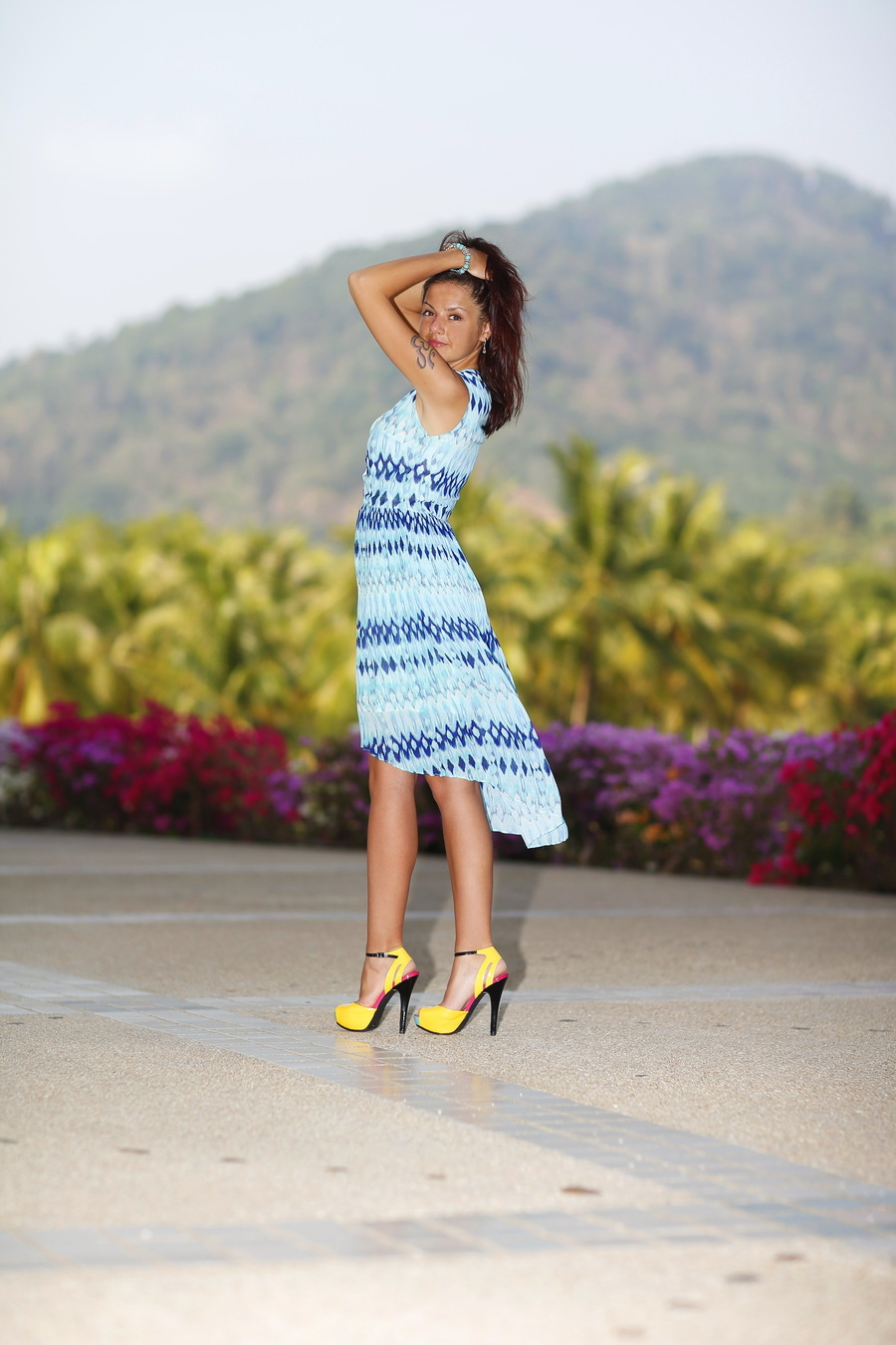 Tropical view  / Model Angelina Simon / Uploaded 28th August 2021 @ 08:02 PM