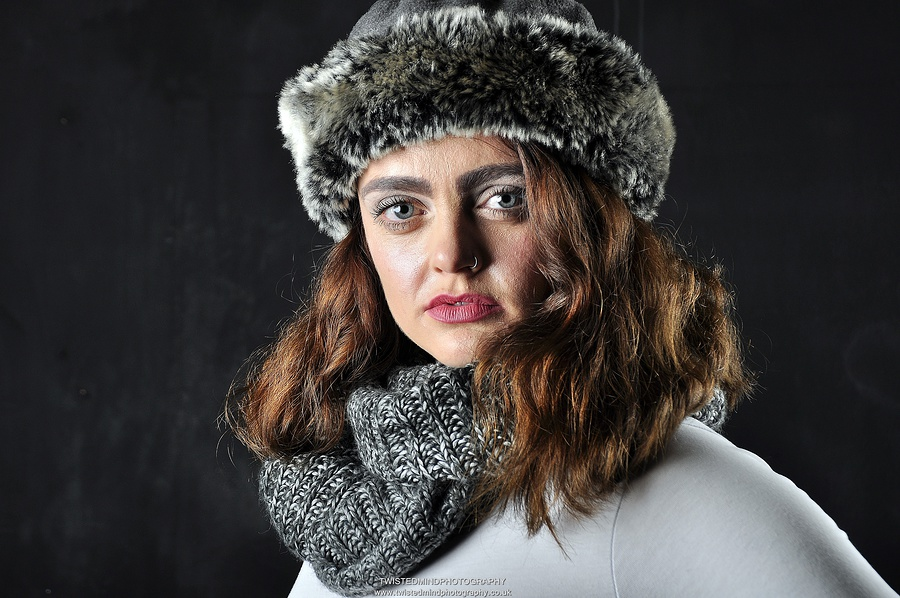 Winter Chic / Photography by Twistedmind Photography, Model Rachyy, Taken at Courtyard Studio Stoke on Trent / Uploaded 2nd January 2018 @ 03:44 PM