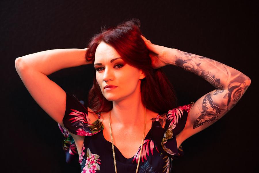 Photography by Ian Fletcher, Model Melanya, Post processing by Ian Fletcher, Taken at Redtree Studio / Uploaded 14th October 2021 @ 07:50 PM