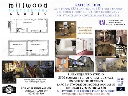 Studio Hire / Taken at Millwood Photography Studio / Uploaded 9th November 2016 @ 12:55 PM