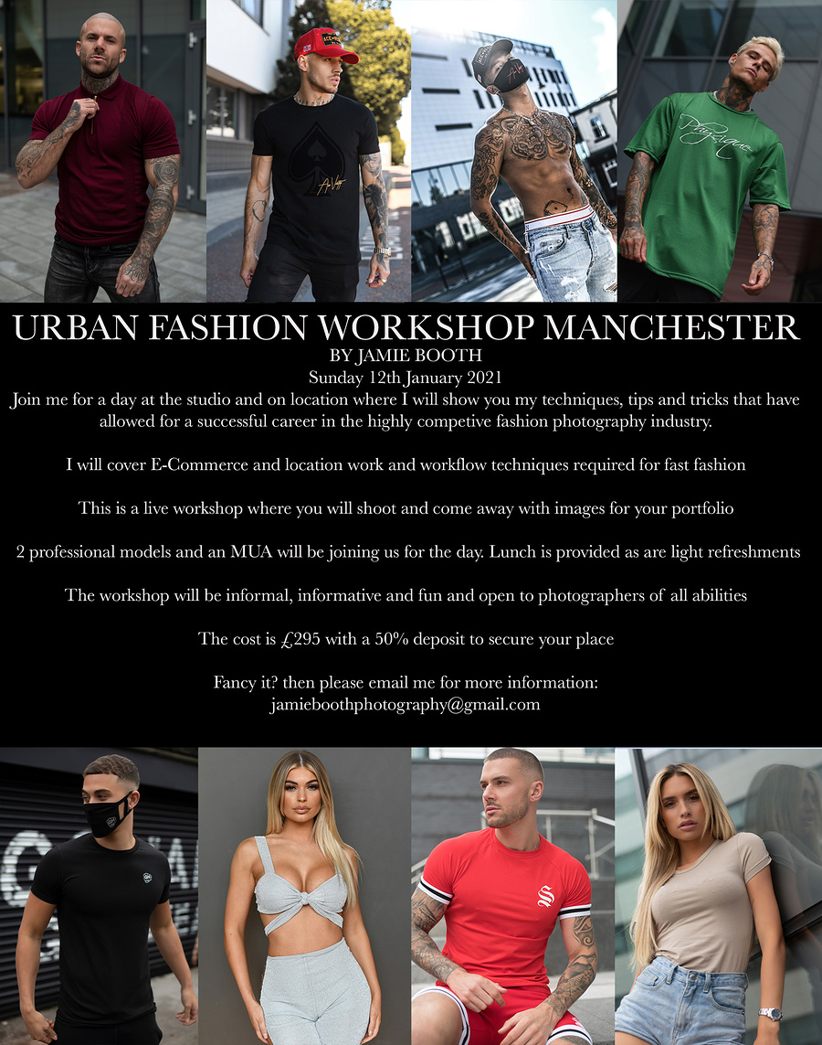 Urban Fashion Workshop new for 2021! / Taken at Millwood Photography Studio (Jamie Booth Photography) / Uploaded 28th November 2020 @ 12:15 AM