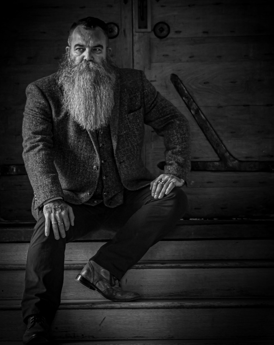 Taking time out / Photography by scott nicoll, Model Silverbeard1 / Uploaded 13th October 2021 @ 12:25 PM
