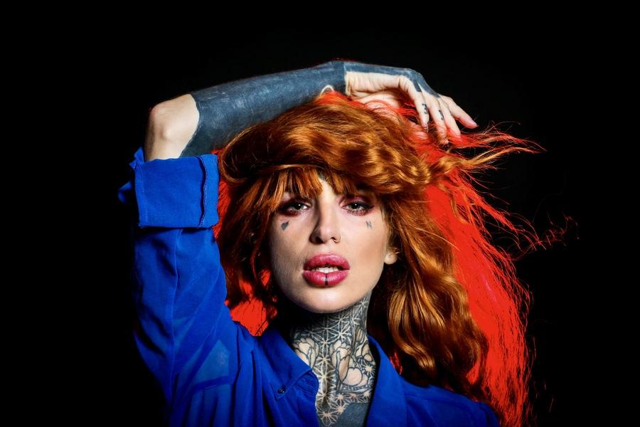 Photography by Dark Spark Photo, Model Tinkerbella, Taken at f/8 Studio / Uploaded 10th October 2021 @ 12:07 PM