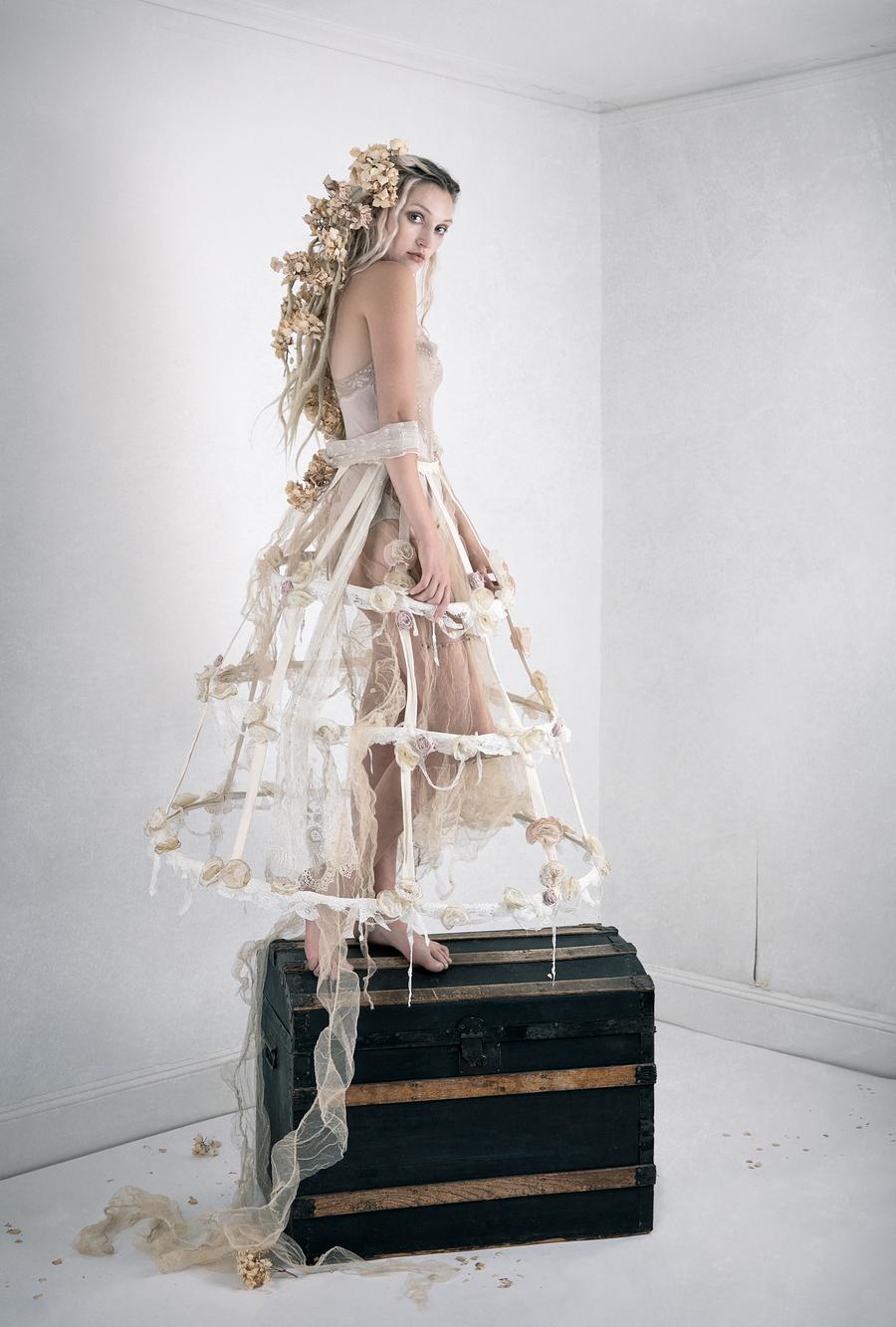 Tim Walker inspired for Carrie Angel / Model Olivia Harriet / Uploaded 13th June 2020 @ 01:20 PM