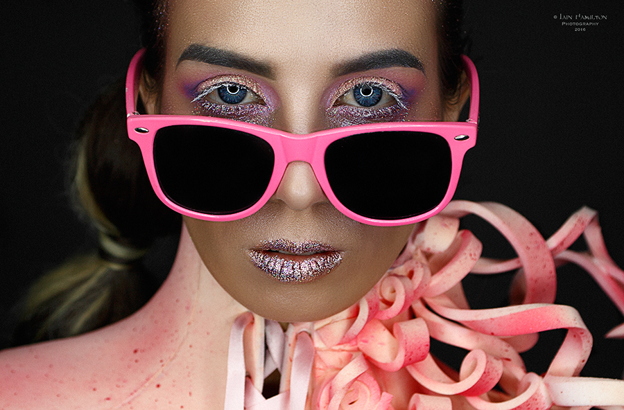 In the Pink / Photography by Iain Hamilton Photography - Studio 301, Makeup by MelVicMakeup, Designer MelVicMakeup / Uploaded 23rd January 2017 @ 07:34 PM