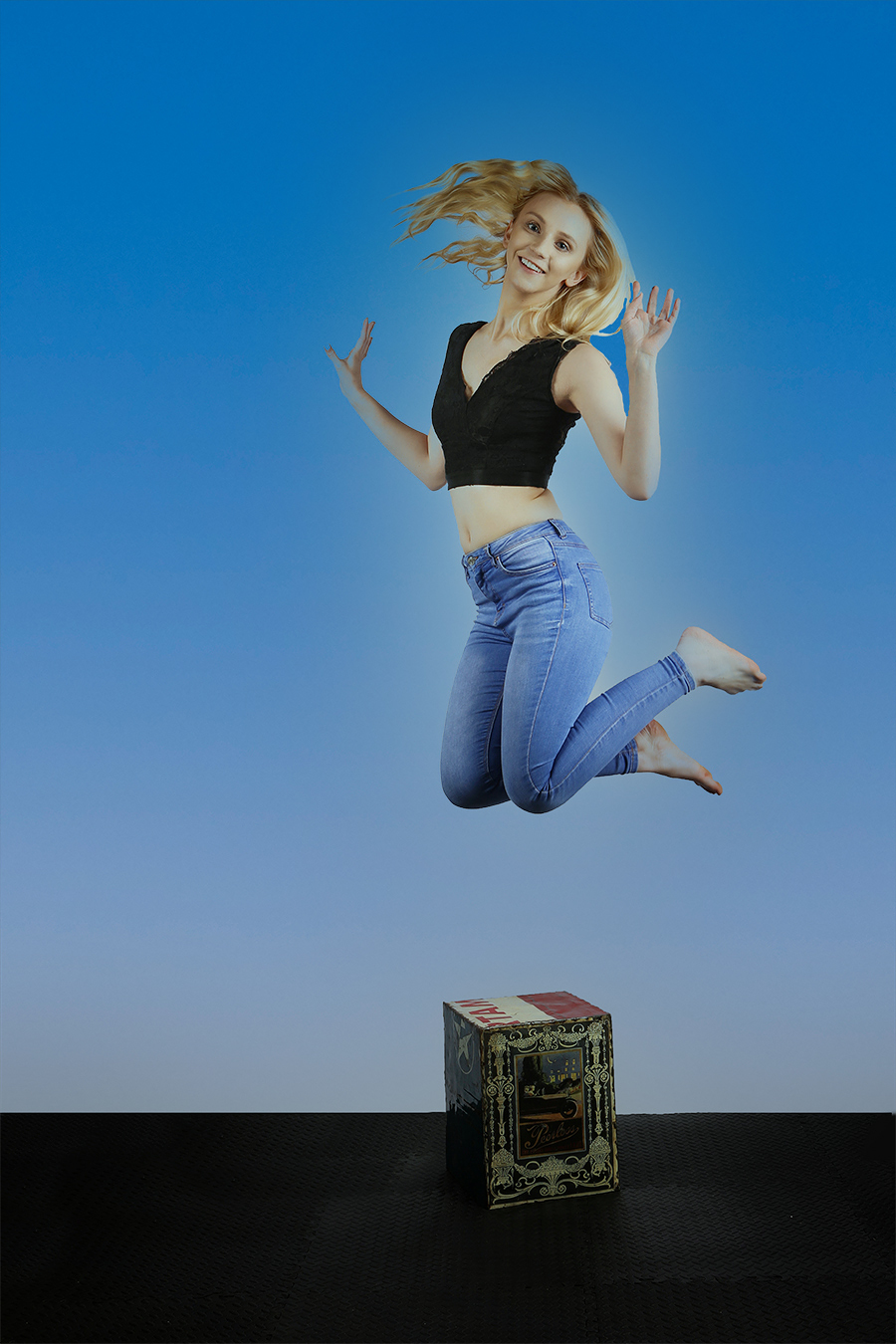 Jump for Joy / Photography by Malc Lander, Taken at Catchlight Pics Studio / Uploaded 27th August 2021 @ 09:18 PM