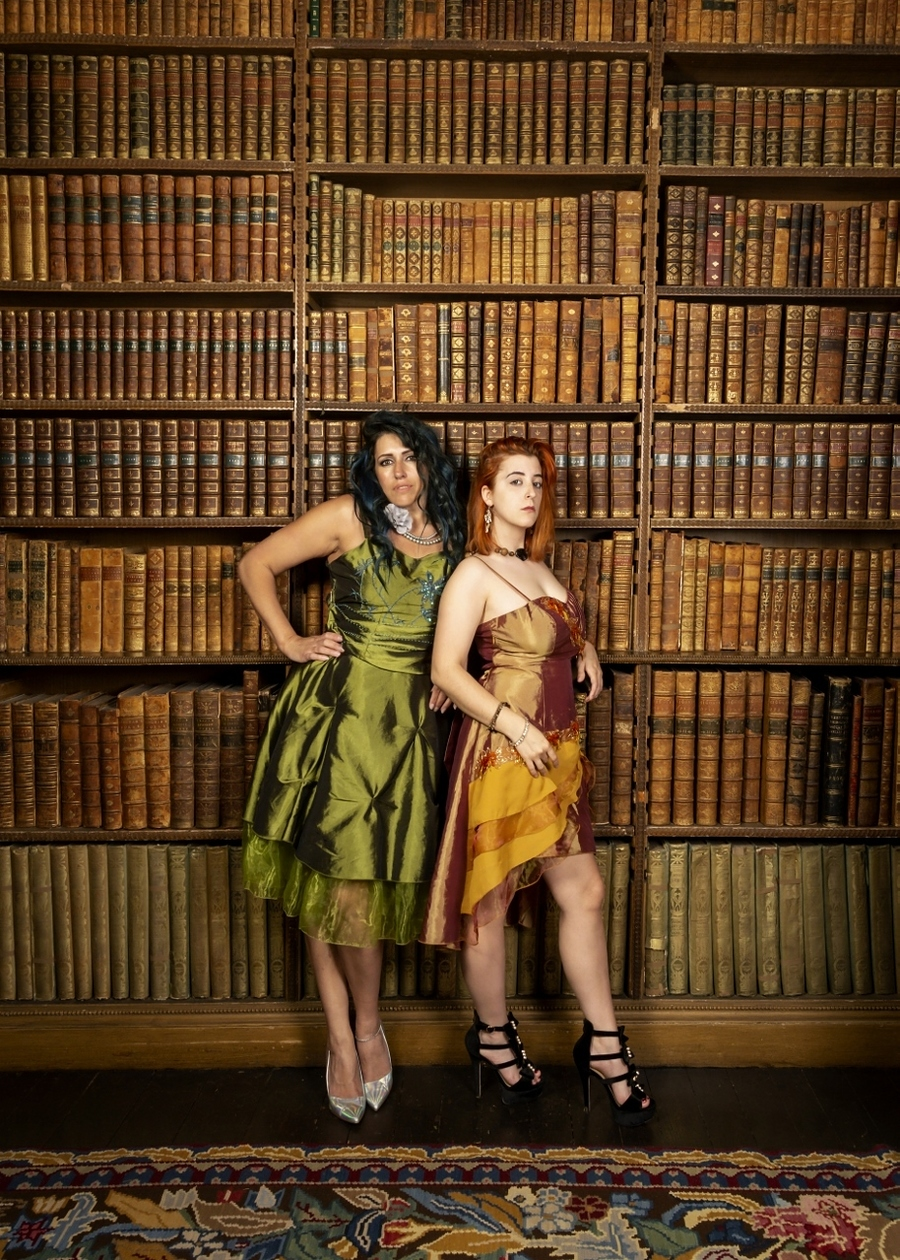 studying! c'mon seriously, what else could we possibly be doing / Photography by will james, Models KatieModel, Models PaigeAntonia, Post processing by Ant Edits, Stylist PaigeAntonia / Uploaded 6th May 2019 @ 07:49 PM