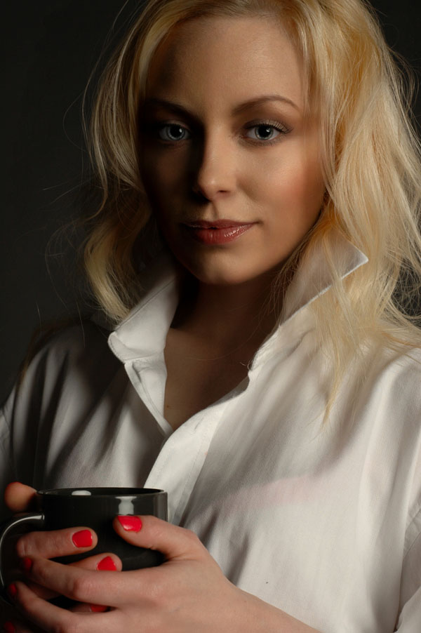 Coffee Time / Photography by Doug Ross Photographic, Model Aurora Violet / Uploaded 11th July 2014 @ 10:38 PM