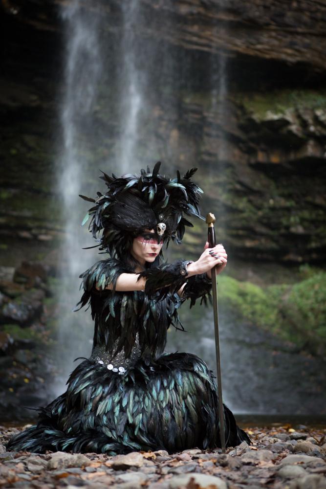 The Morrigan / Photography by Nedine, Model Avant Garde, Makeup by Avant Garde / Uploaded 16th February 2020 @ 07:46 PM