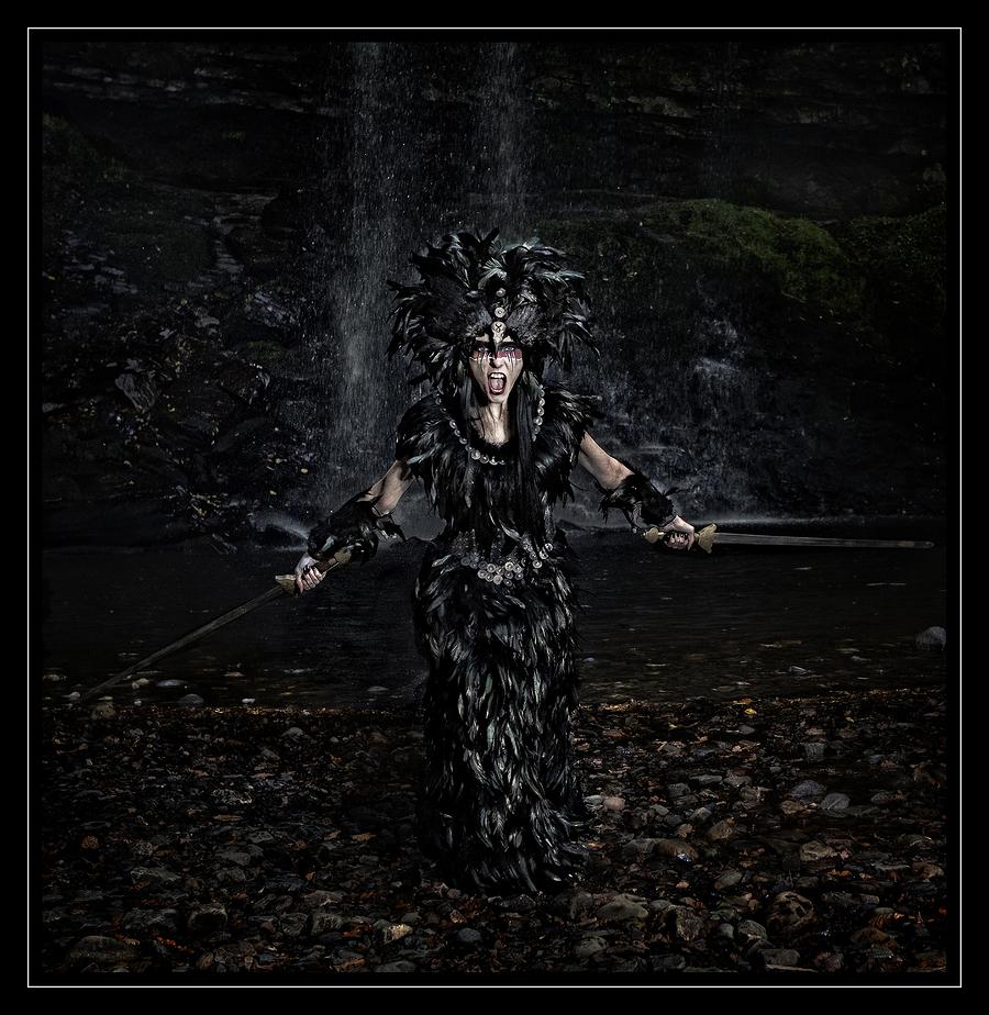 The Morrigan / Photography by Nedine, Model Avant Garde, Makeup by Avant Garde / Uploaded 16th February 2020 @ 07:48 PM