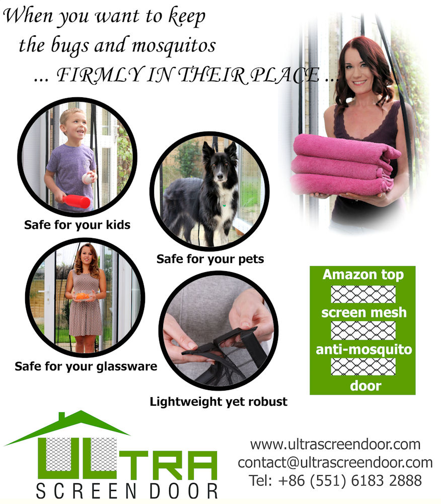 Advert for Ultra Screen Doors - Peoples Republic of China for their N American / European markets / Photography by Barney Douglas, Models Petra Callisto, Models Jodele, Post processing by Barney Douglas, Taken at Hangleton Lane Studio / Uploaded 10th December 2015 @ 02:52 PM