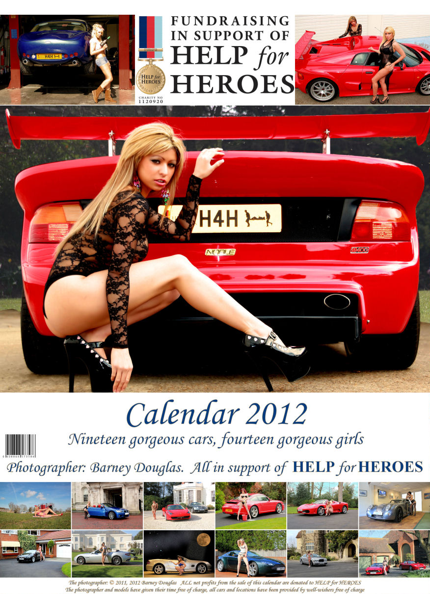 Cover of Help for Heroes Calendar 2012 / Photography by Barney Douglas / Uploaded 30th December 2012 @ 09:40 AM