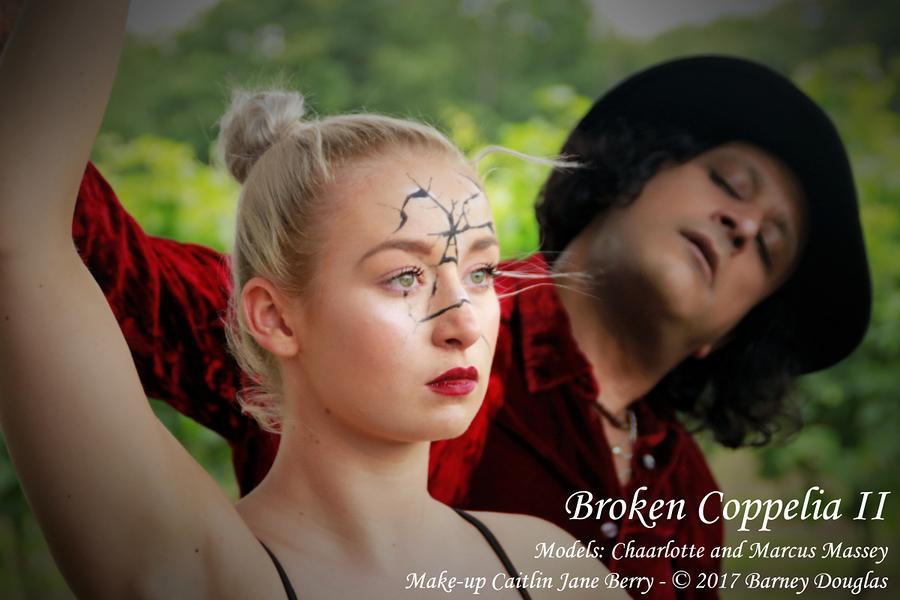 Broken Coppelia II / Photography by Barney Douglas, Model Dark Horse / Uploaded 20th July 2017 @ 03:06 PM