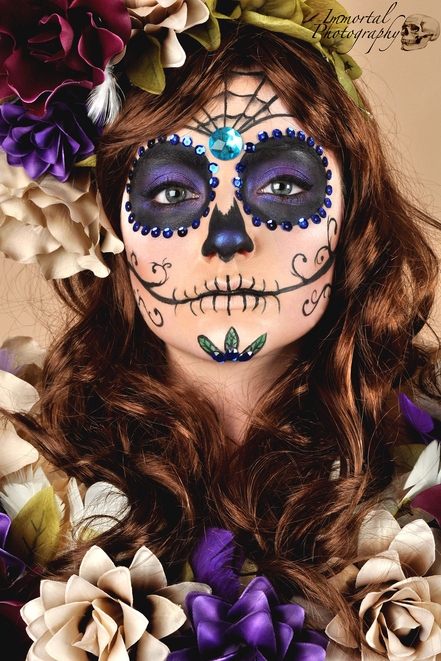 day of the dead / Makeup by Rachael Gunn Makeup artistry / Uploaded 26th October 2012 @ 08:20 AM