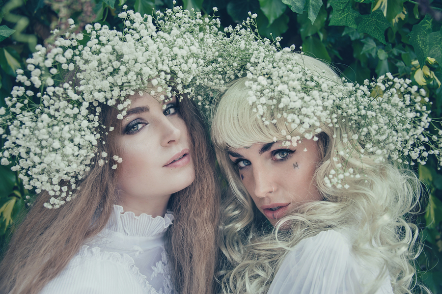 Two halves make a whole.... / Photography by Candy Heart, Models Tinkerbella, Models Jezebelle, Post processing by Candy Heart, Stylist Candy Heart, Taken at Candy Heart / Uploaded 18th June 2018 @ 07:51 AM