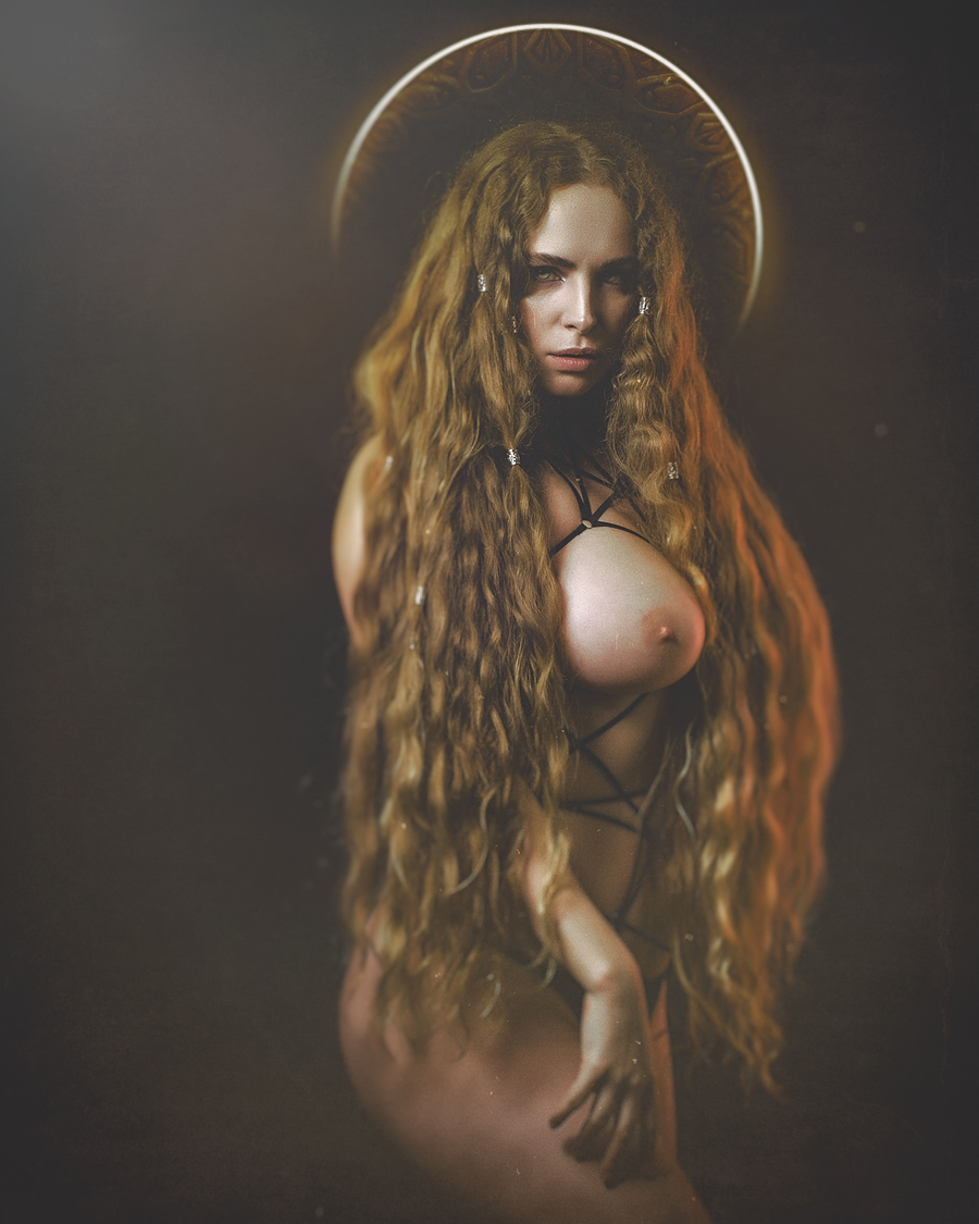 Daughters of darkness, sisters insane....a little evil goes a long, long way / Photography by Dark Moon Media, Model Jezebelle, Post processing by Dark Moon Media, Taken at Mr Dave / Uploaded 10th April 2019 @ 05:50 AM