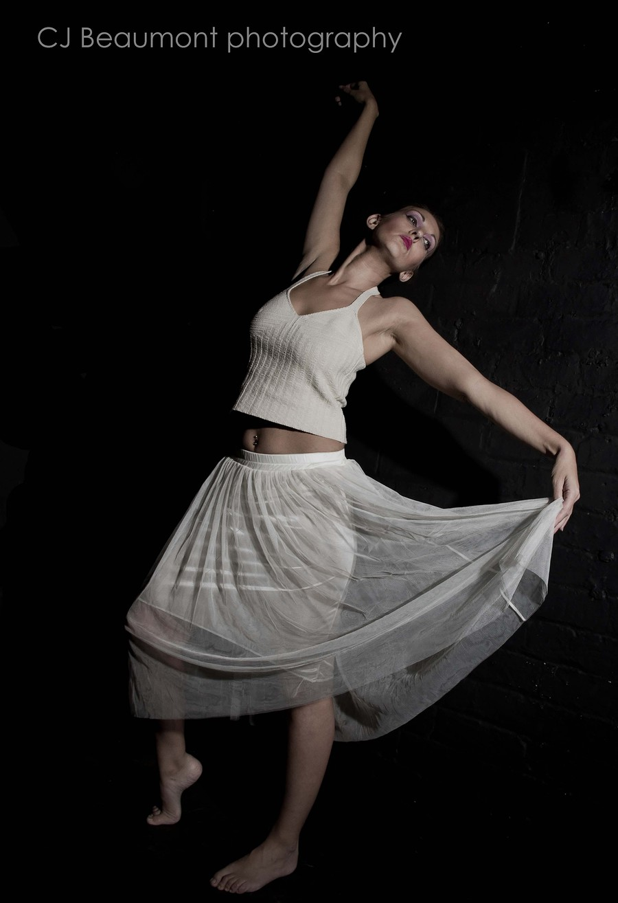 Grace and movement / Photography by CJ Beaumont Photography, Model Jo Jo, Makeup by Tamara  rowlstone mua / Uploaded 23rd December 2013 @ 08:34 PM