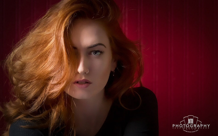 You're not a woman, he said ... My red hair, like red flames, shall burn up the world! / Photography by Jess Middlebrook, Taken at Amberkat Studio / Uploaded 11th August 2015 @ 06:52 PM