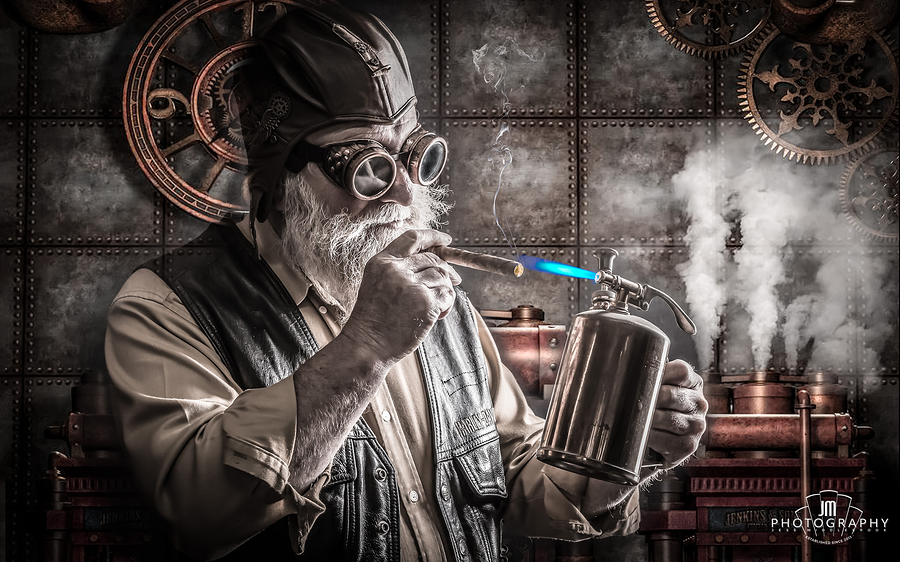 SteamPunk Grandad / Photography by Jess Middlebrook / Uploaded 27th December 2015 @ 04:46 PM