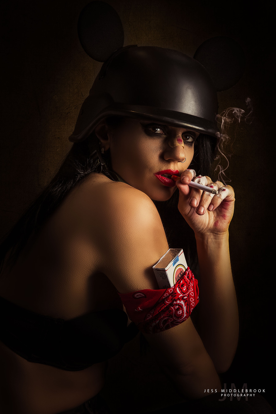 Smoke? / Photography by Jess Middlebrook, Model Lilly Von Pink, Makeup by The velvet unicorn / Uploaded 11th November 2017 @ 04:02 PM