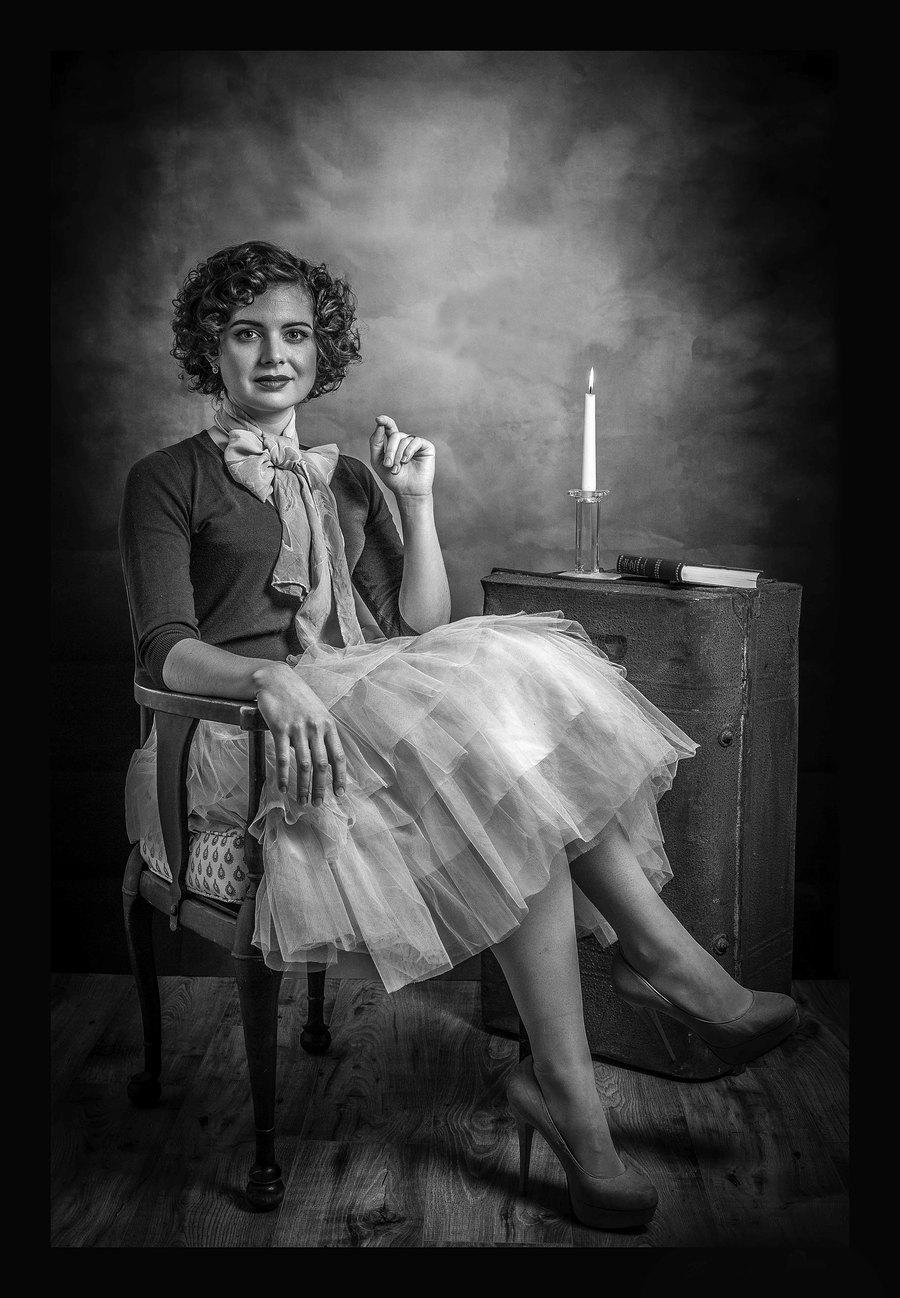 Vintage Look / Taken at Fleet Portrait Studio / Uploaded 16th February 2019 @ 11:27 AM