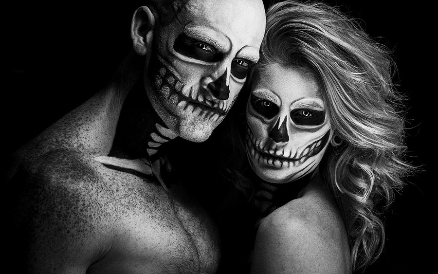 Halloween!! / Photography by IainT, Models Artemis Fauna, Models Darren S, Makeup by Artemis Fauna, Post processing by SarahDPhotography / Uploaded 12th November 2015 @ 06:46 PM