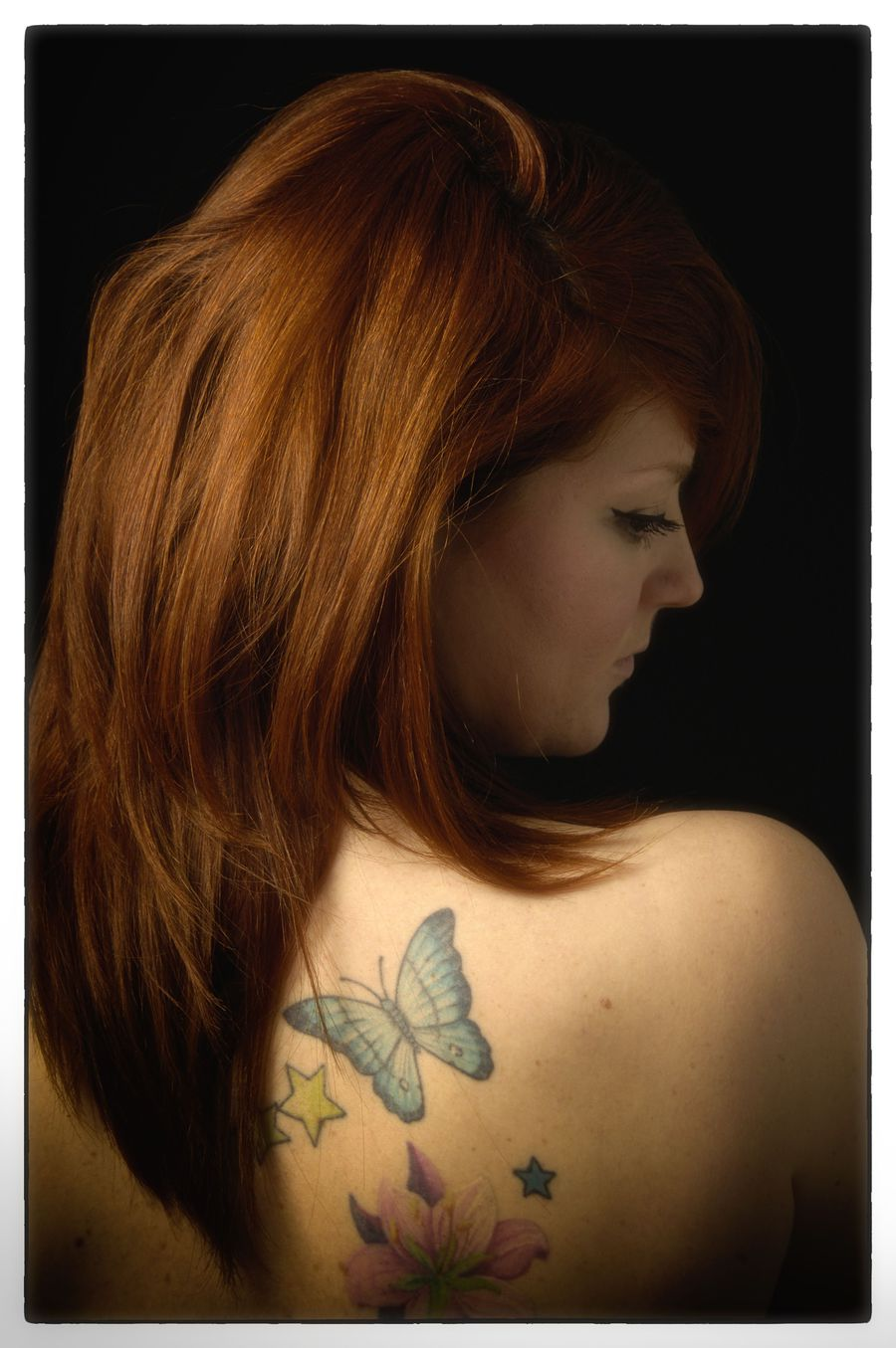 Girl with the ginger hair and tattoo / Photography by Jon GODDARD / Uploaded 20th May 2015 @ 12:02 PM