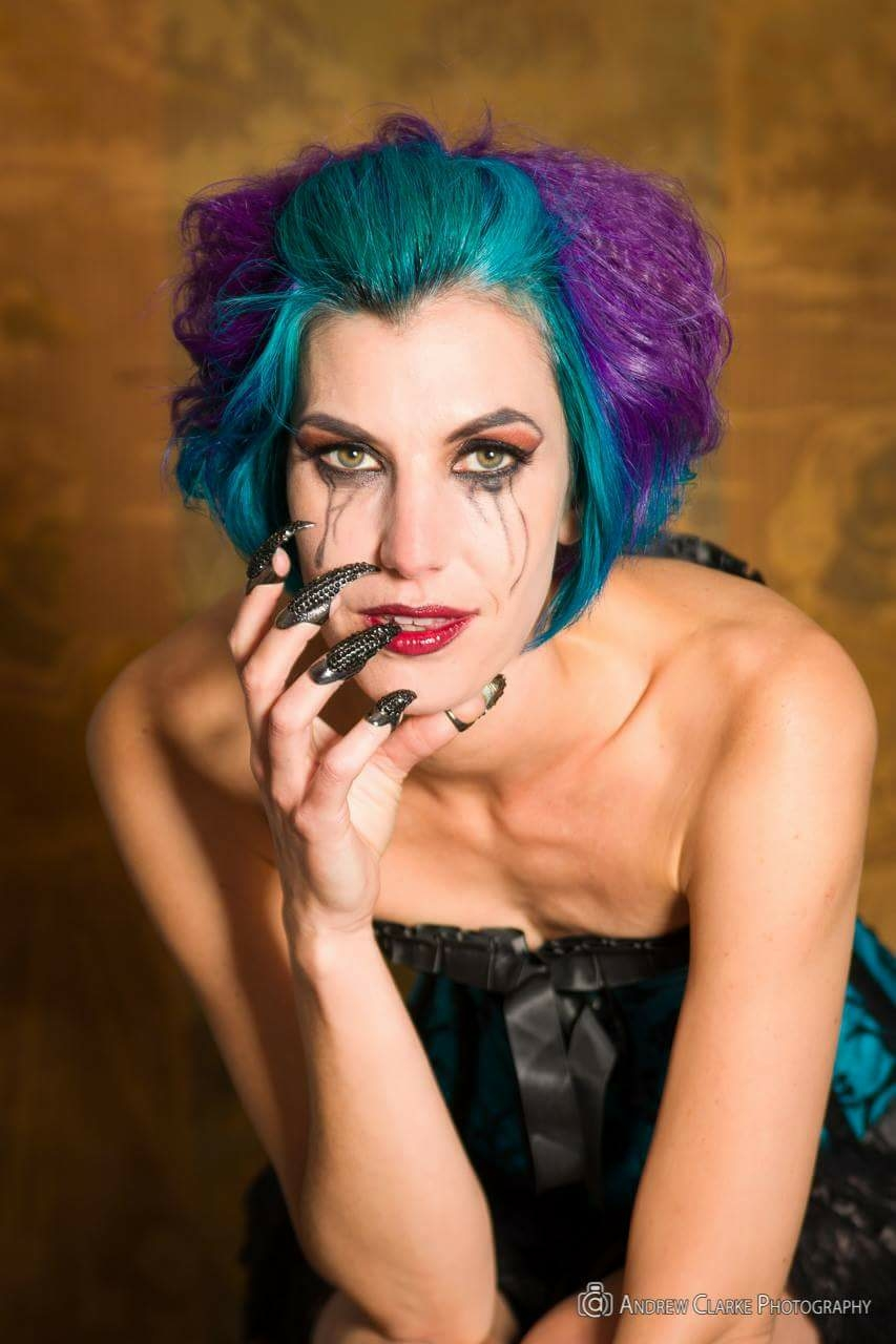 Beware, the claws are out! / Photography by Andrew Clarke, Model Stephsparkles, Makeup by Natalie George, Hair styling by Natalie George / Uploaded 8th July 2016 @ 10:11 AM
